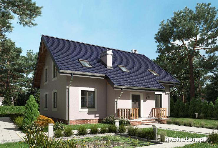 Projekt domu Marcepan - dom dla rodziny wielopokoleniowej liczącej 5-8 osób