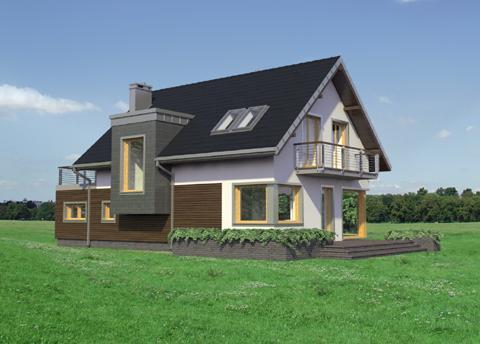 Projekt domu Margo Luna