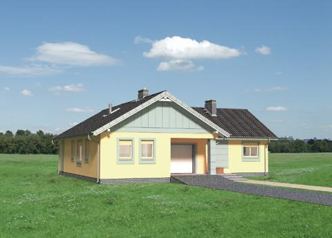 Projekt domu Marika