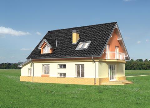 Projekt domu Marta