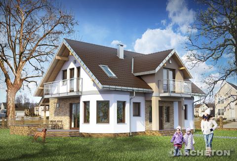 Projekt domu Maryla