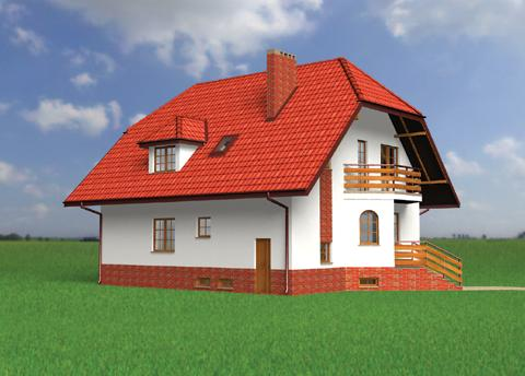 Projekt domu Marzanna