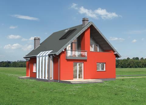 Projekt domu Melba