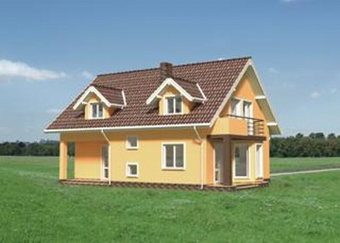 Projekt domu Melchior
