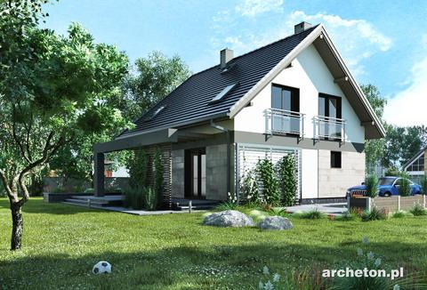 Projekt domu Melinda