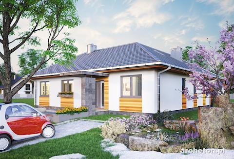 Projekt domu Menuet