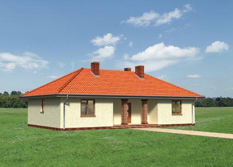 Projekt domu Migdał