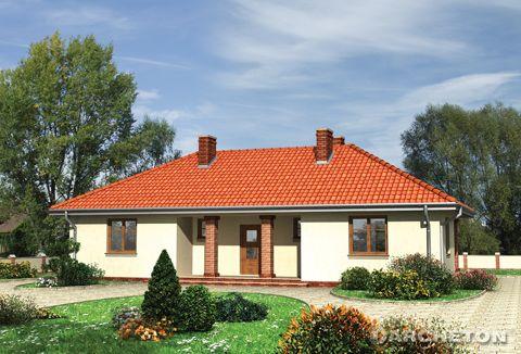 Одноэтажный дом, без выстроенного подвала