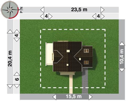 Projekt domu Mikołaj