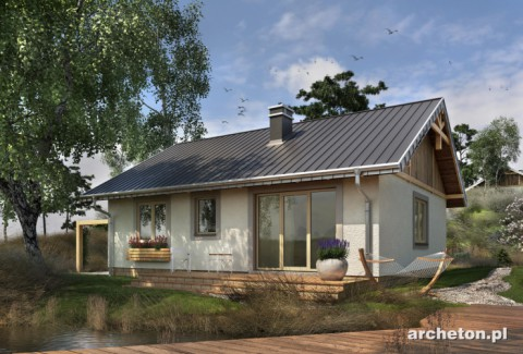 Projekt domu Mikro