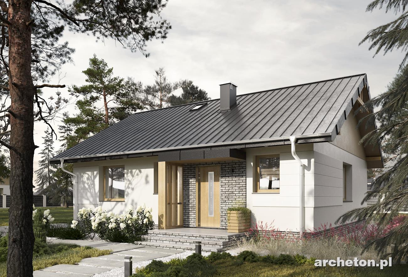 Projekt domu Mikro Eko