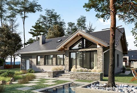 Projekt domu Mikrus