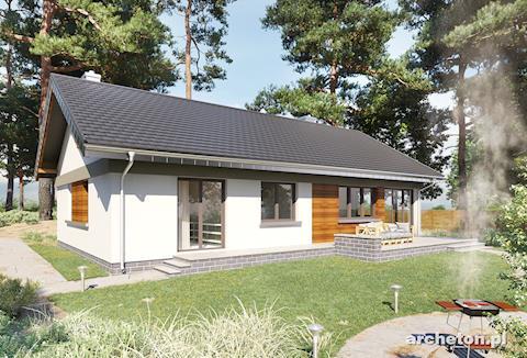 Projekt domu Milan Rex