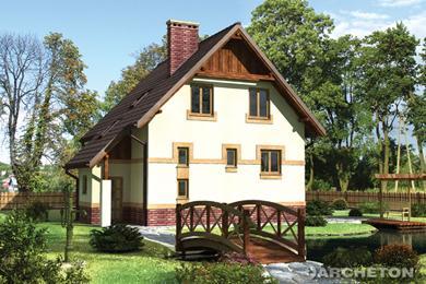 Projekt domu Miłek