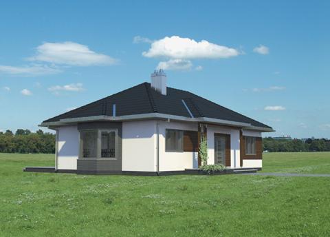 Projekt domu Milena