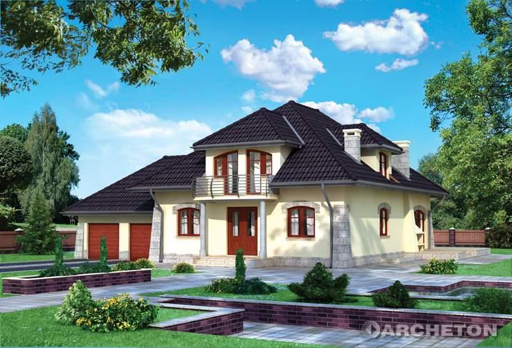 Projekt domu Miłorząb - duży, obszerny dom dla dużej rodziny