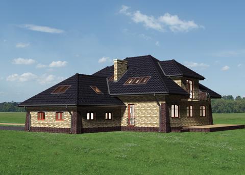 Projekt domu Miłorząb