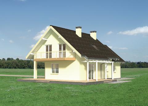 Projekt domu Mira