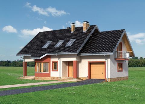 Projekt domu Mira Polo