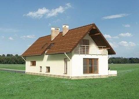 Projekt domu Miriam