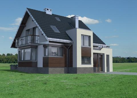 Projekt domu Mirona