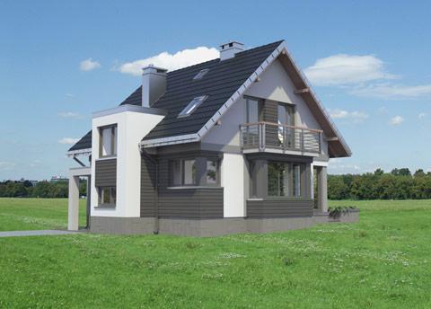 Projekt domu Mirona Solo