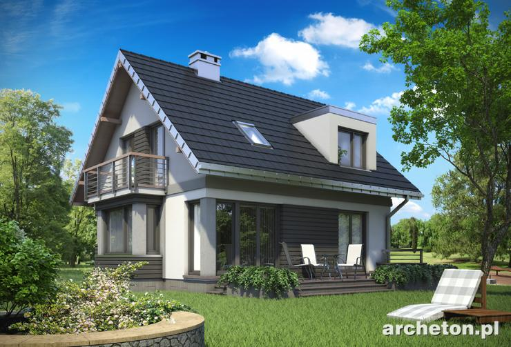 Projekt domu Mirona Solo - atrakcyjny dom z rozbudowaną klatką schodową