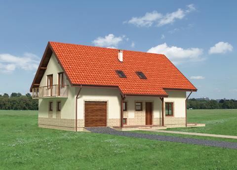 Projekt domu Miś