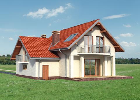 Projekt domu Mlecz