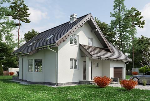 Projekt domu Mlecz Alfa