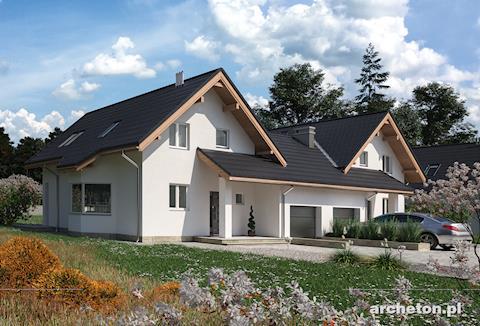 Projekt domu Mlecz Duo