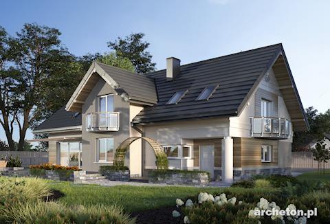 Projekt domu Modesta
