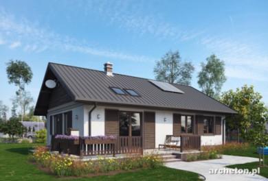 Projekt domu Modrzyk Eko