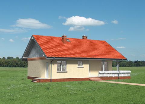 Projekt domu Modrzyk