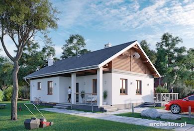 Projekt domu Modrzyk Bis