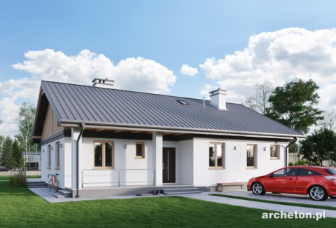 Projekt domu Modrzyk Karbo