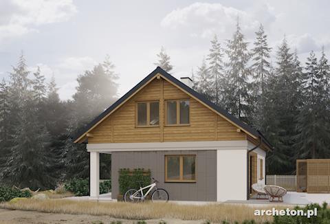 Projekt domu Modrzyk Max