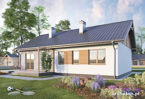 Projekt domu Modrzyk Solis