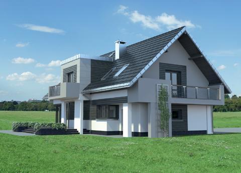 Projekt domu Mona