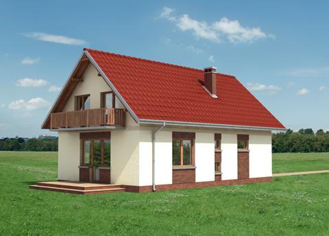 Projekt domu Mrówka