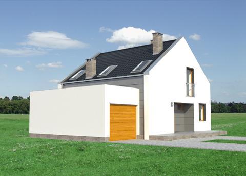 Projekt domu Niko