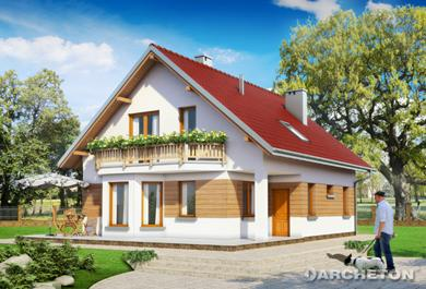 Projekt domu Nina