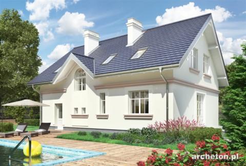 Projekt domu Nowy Dworek
