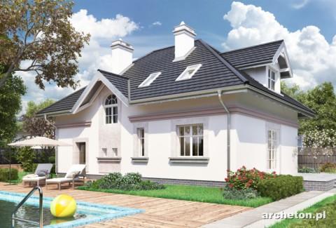 Projekt domu Nowy Dworek-2