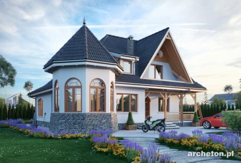 Projekt domu Nowy Zameczek