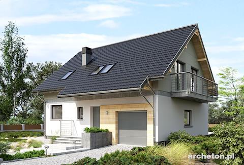 Projekt domu Oberek Rex