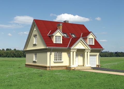 Projekt domu Oksza