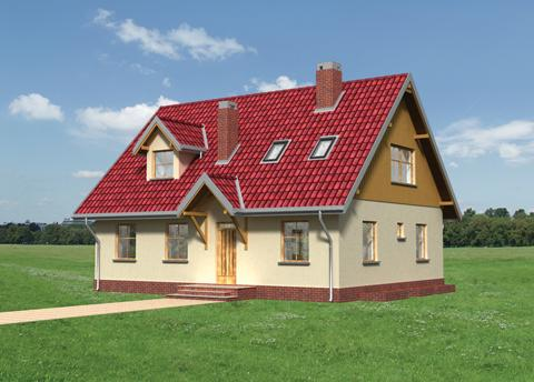 Projekt domu Olcha