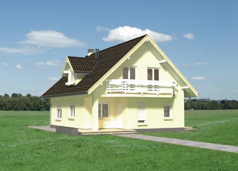 Projekt domu Olga