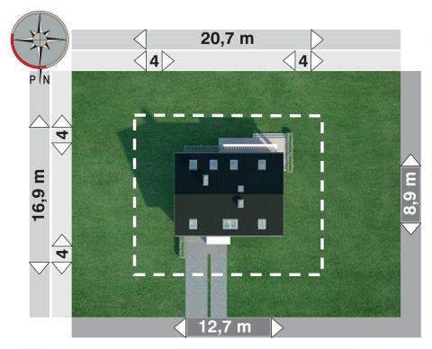 Projekt domu Omega Dron